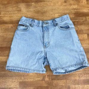 Vintage 90s Calvin Klien Jean shorts high waisted
